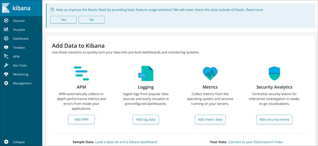 Установка Elasticsearch, Logstash и Kibana в Ubuntu 18.04